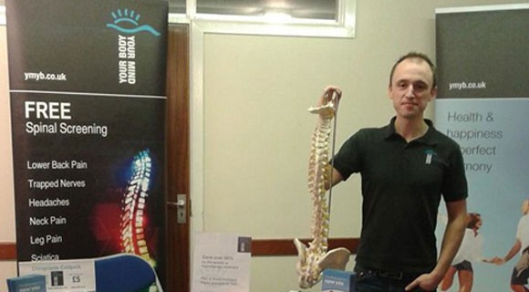 Jon Booth - Andover Chiropractor