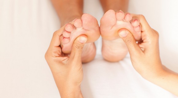 Reflexology at our Andover centre
